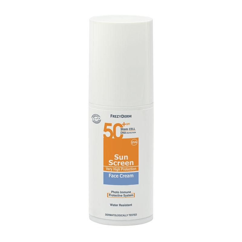 Frezyderm Sunscreen Face Cream Spf50 50ml