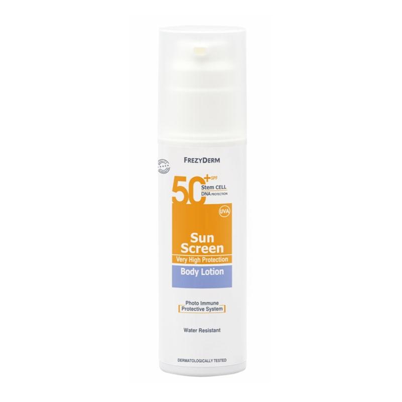 Frezyderm Sunscreen Body Lotion SPF50+ 150ml