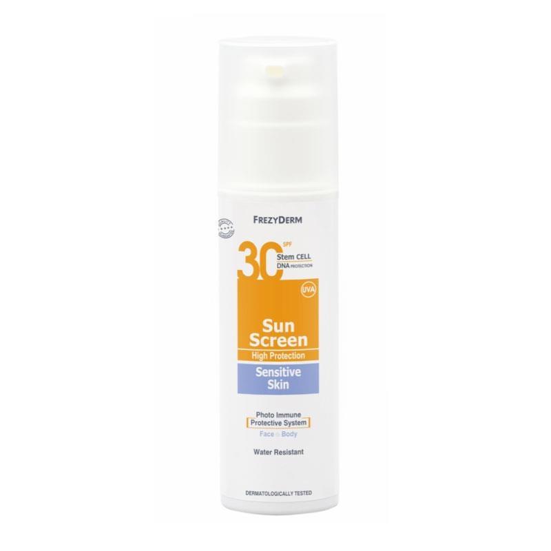 Frezyderm Sun Screen Sensitive Skin SPF30 150ml