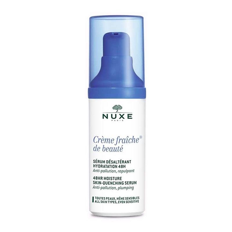 Nuxe Creme Fraiche de Beaute Ορός 48ωρης Ενυδάτωσης για Όλους τους Τύπους Δέρματος 30ml