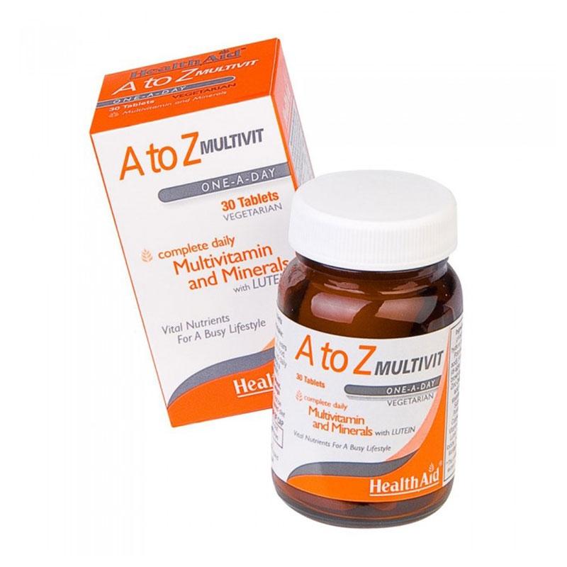 Health Aid A to Z Multivit 30tabs