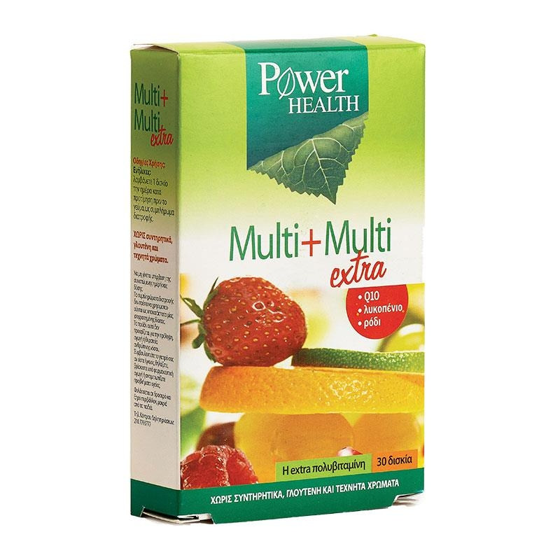 Power Health Multi Multi Extra 30 ταμπλέτες