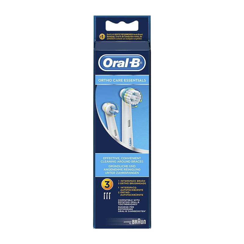 Oral-B Ortho Care Essentials 3τεμ.