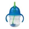 Munchkin Κύπελλο με Ενσωματωμένο Καλαμάκι Μπλε 207 ml