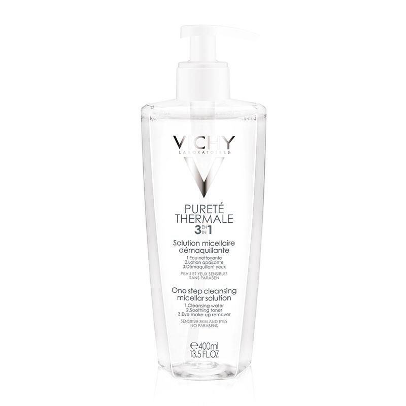 Vichy Purete Thermale 3 in 1 Step Cleansing Micellar Solution 400ml