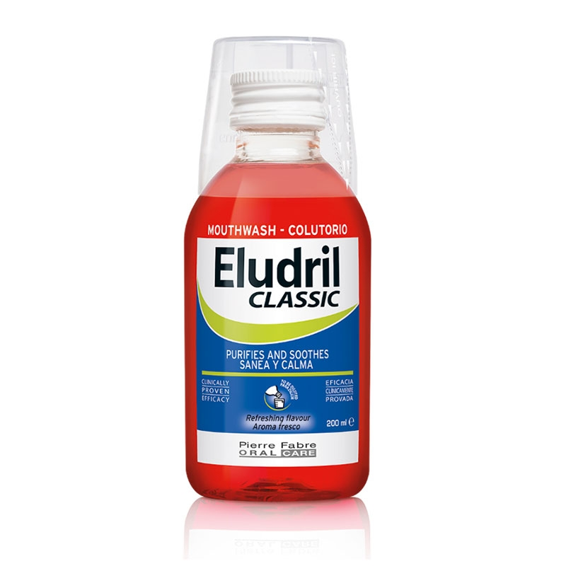 Eludril Classic Στοματικό Διάλυμα Χλωρεξιδίνης 200ml