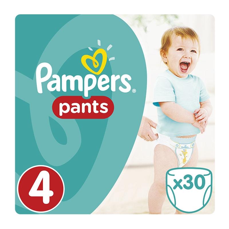 Pampers Πάνες Pants No 4 (9-14kg) 30τεμ.