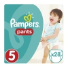 Pampers Πάνες Pants No 5 (12-18 Kg) 28τεμ.