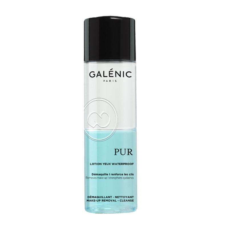 Galenic Pur Αδιάβροχη Διφασική Λοσιόν Καθαρισμού για τα Mάτια 125ml