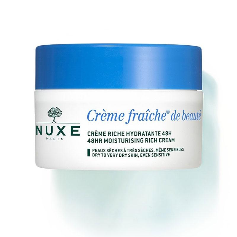 Nuxe Creme Fraiche de Beaute Κρέμα 48ωρης Ενυδάτωσης για Ξηρή - Πολύ Ξηρή Επιδερμίδα 50ml