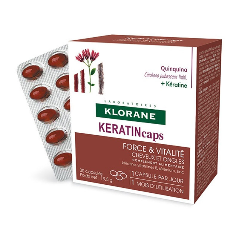 Klorane Keratin Cpas 30caps