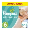 Pampers Πάνες Active Baby Dry Jumbo Pack No6 (15+Kg) 42τεμ.