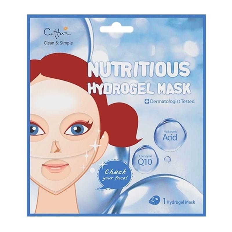 Vican Cettua Clean & Simple Nutritious Hydrogel Mask Μάσκα Ενυδάτωσης & Θρέψης 1τεμ.