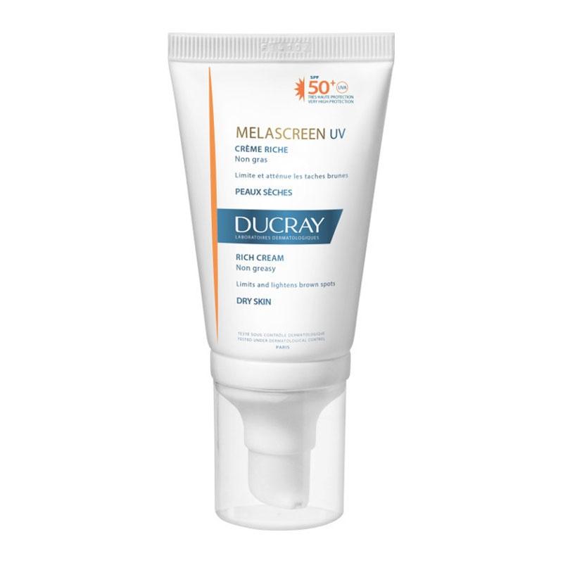 Ducray Melascreen Uv Αντηλιακή Κρέμα Προσώπου Πλούσια SPF50+ 40ml