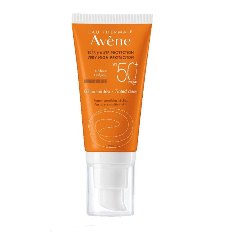 Avene Creme Teintee Αντηλιακή Κρέμα με Χρώμα SPF50+ 50ml