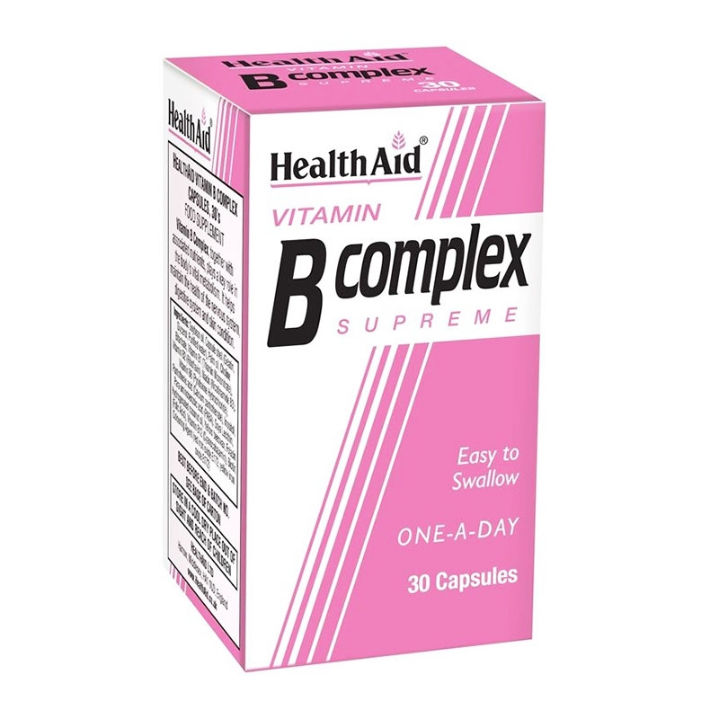 Health Aid B Complex Supreme 30Caps