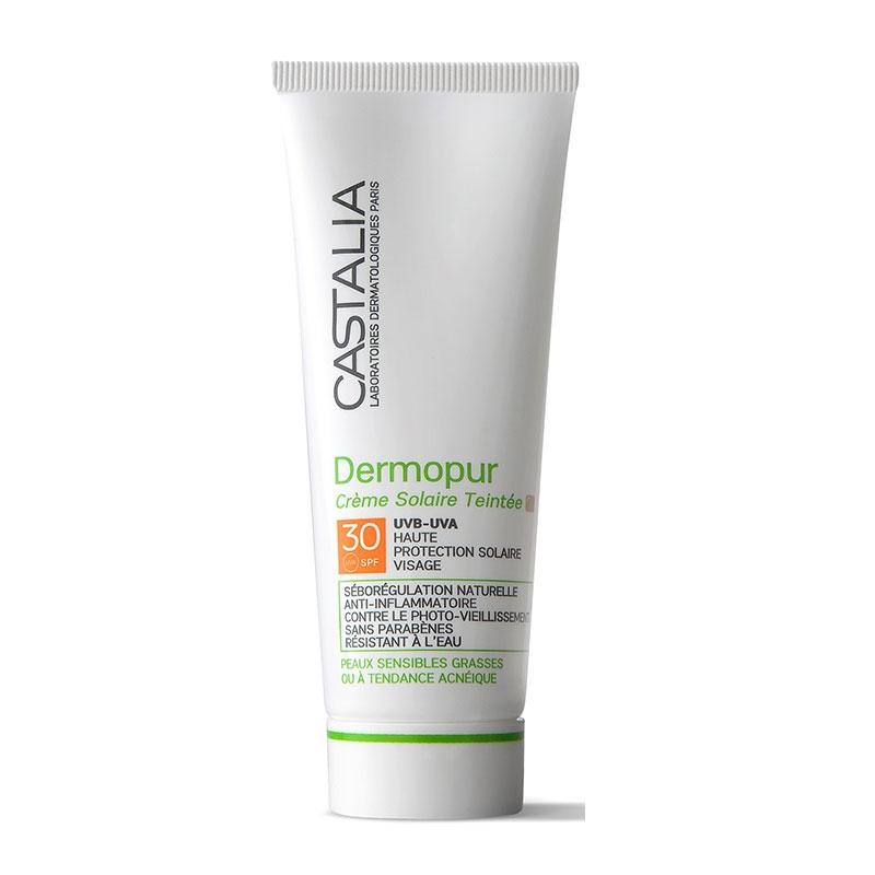 Castalia Dermopur Creme Solaire Teintee 40ml