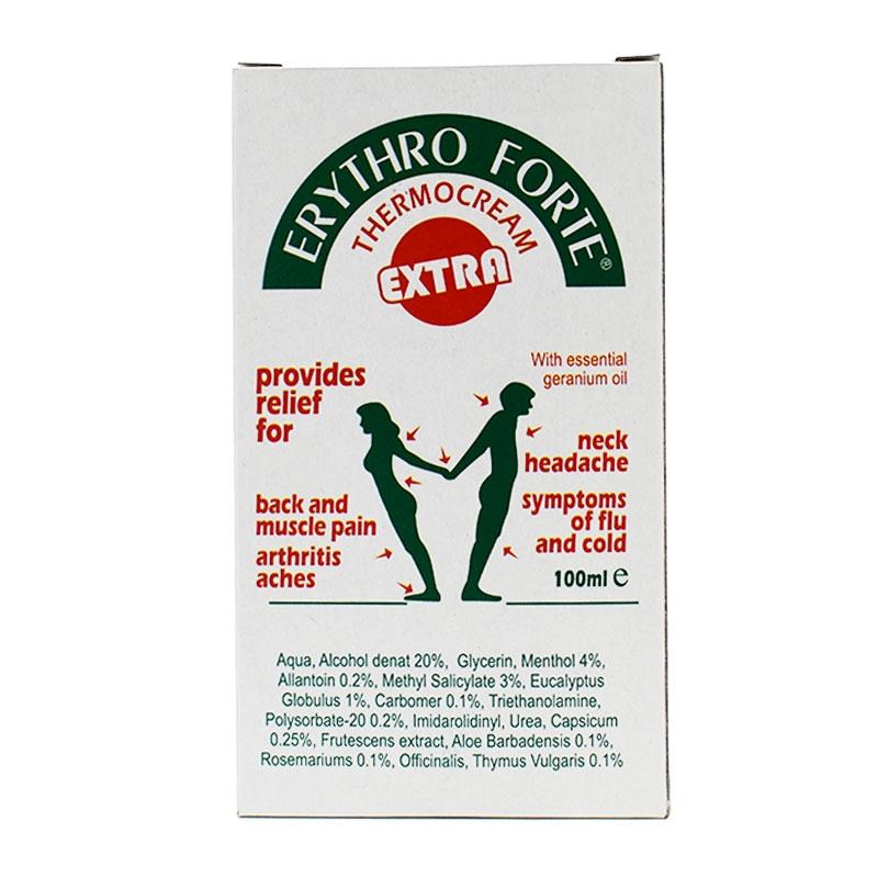 Erythro Forte Thermocream Extra 100ml
