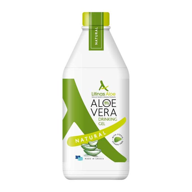 Litinas Aloe Vera Drinking Gel Πόσιμη Φυσική Αλόη Βέρα 1000ml