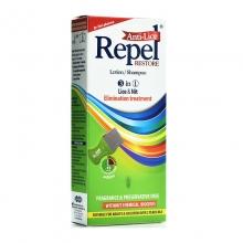 Uni-Pharma Repel Anti-lice Restore Lotion/Shampoo 3 σε 1 200gr