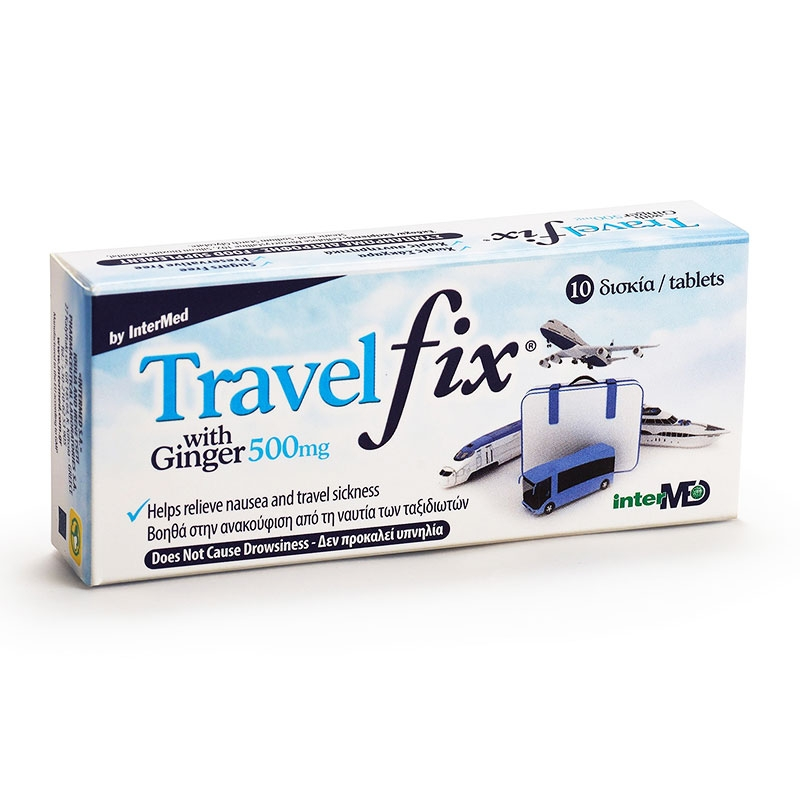 Uni-Pharma Travel Fix 10 δισκία