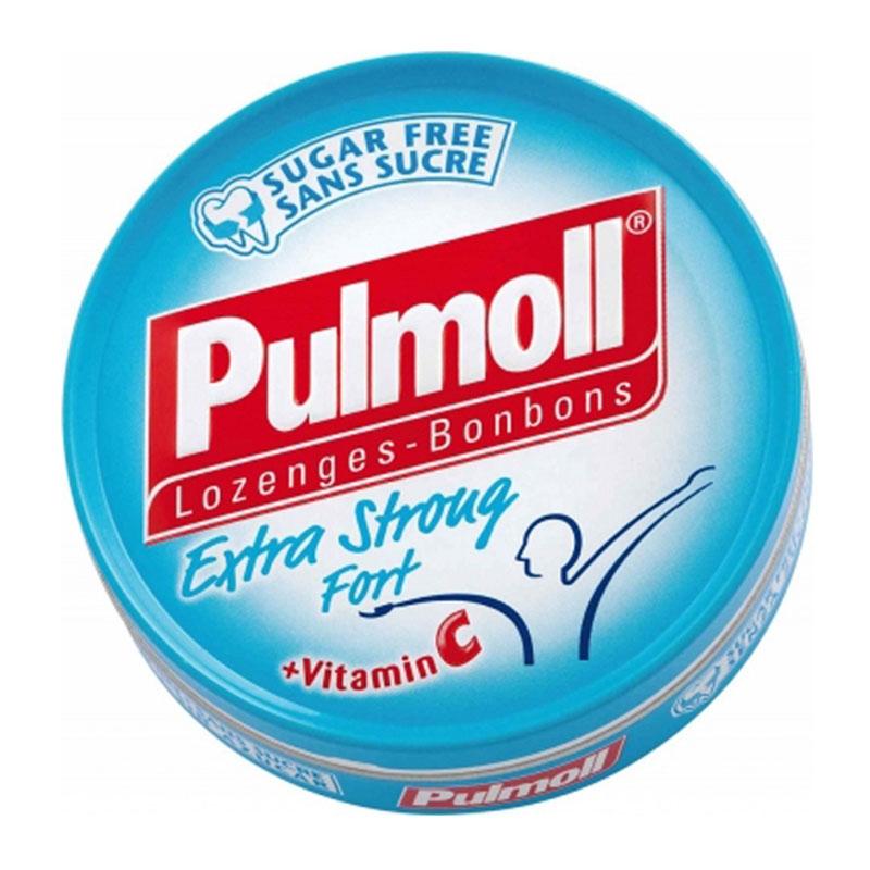 Pulmoll Καραμέλες με πολύ Δυνατή Γεύση 45gr