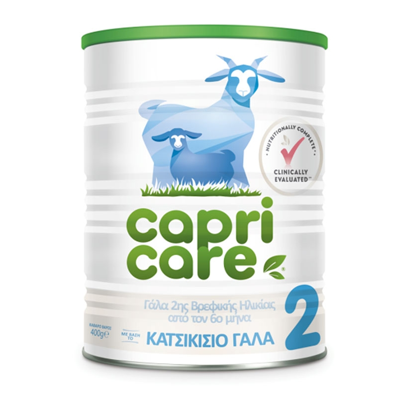 Capricare 2 Κατσικίσιο Γάλα 400gr