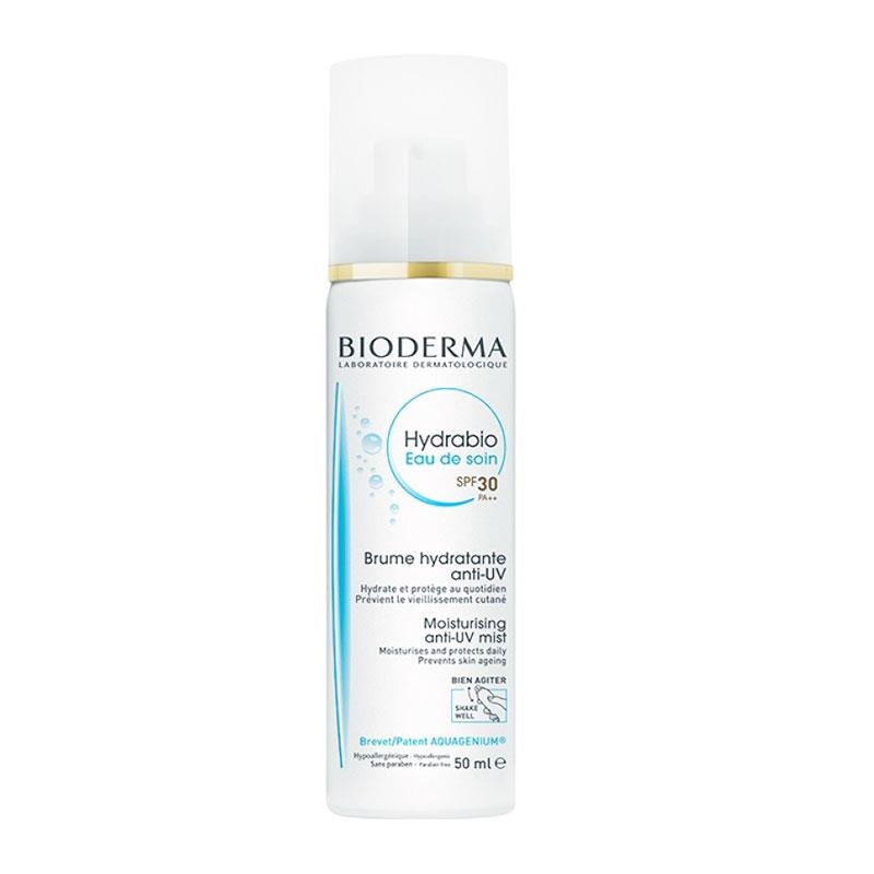 Bioderma Hydrabio Eau De Soin Anti-UV Mist SPF30 50ml