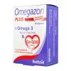 Health Aid Omegazon Plus Omega 3 & Co Q10 60caps