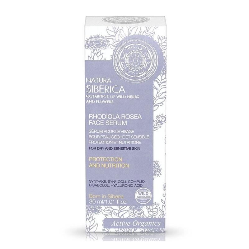 Natura Siberica Rhodiola Rosea Face Serum για Ξηρές και Ευαίσθητες Επιδερμίδες 30 ml