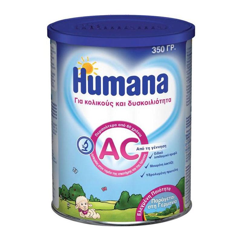 Humana AC Γάλα για Κολικούς και Δυσκοιλιότητα 350gr