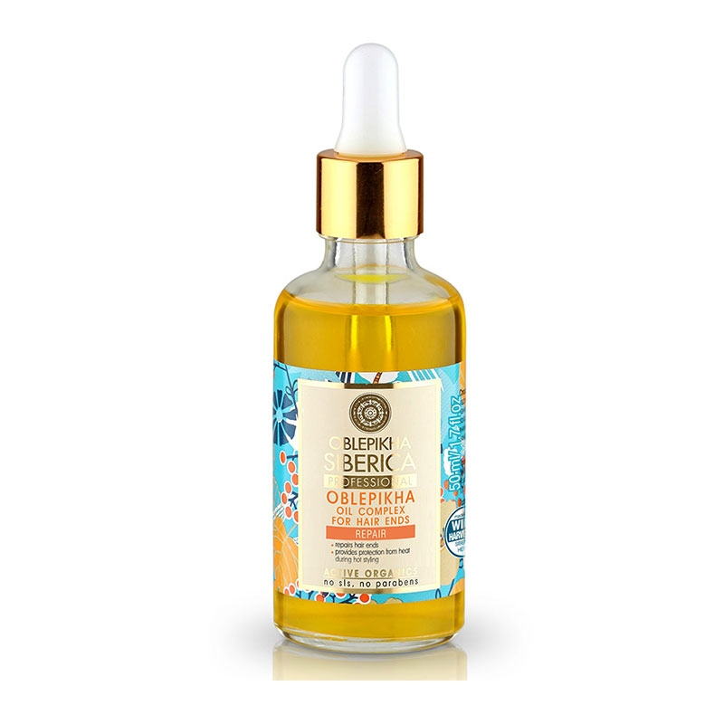 Natura Siberica Οblepikha Oil Complex for Hair Ends Λαδάκι με Βάση το Ιπποφαές 50ml
