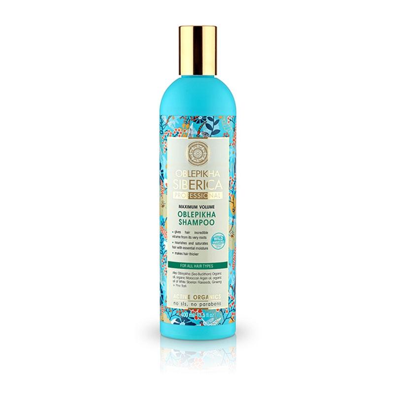 Natura Siberica Oblepikha Shampoo για Μέγιστο Όγκο για Όλους τους Τύπους 400 ml