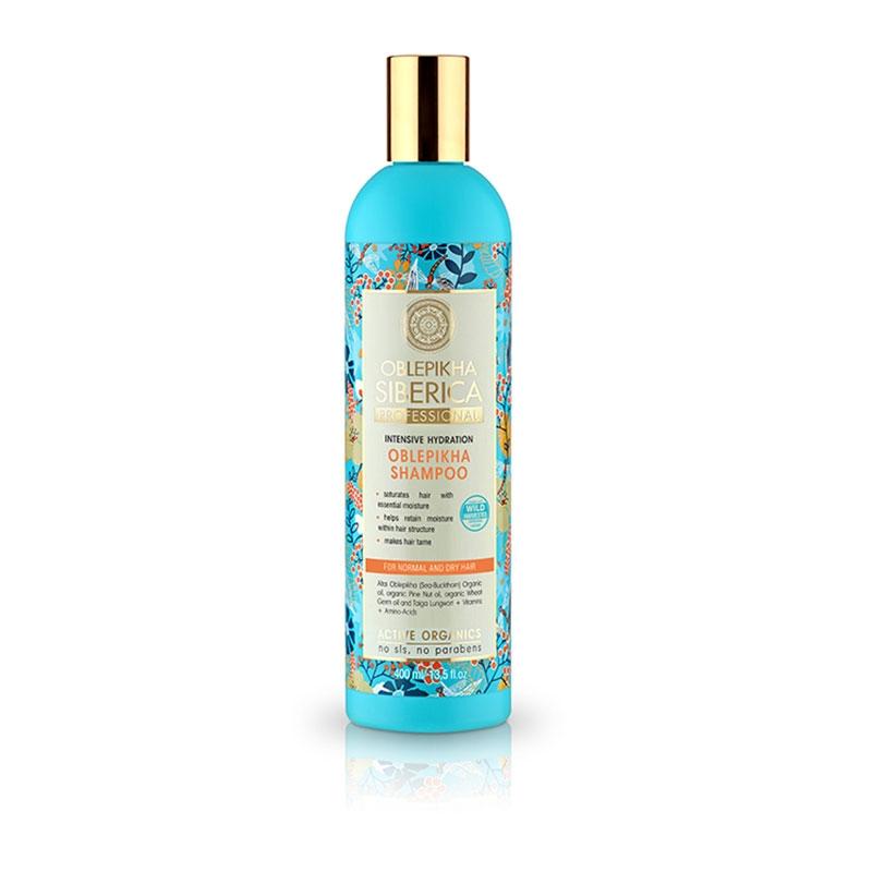 Natura Siberica Oblepikha Shampoo Εντατικής Ενυδάτωσης για Κανονικά & Ξηρά Μαλλιά 400ml