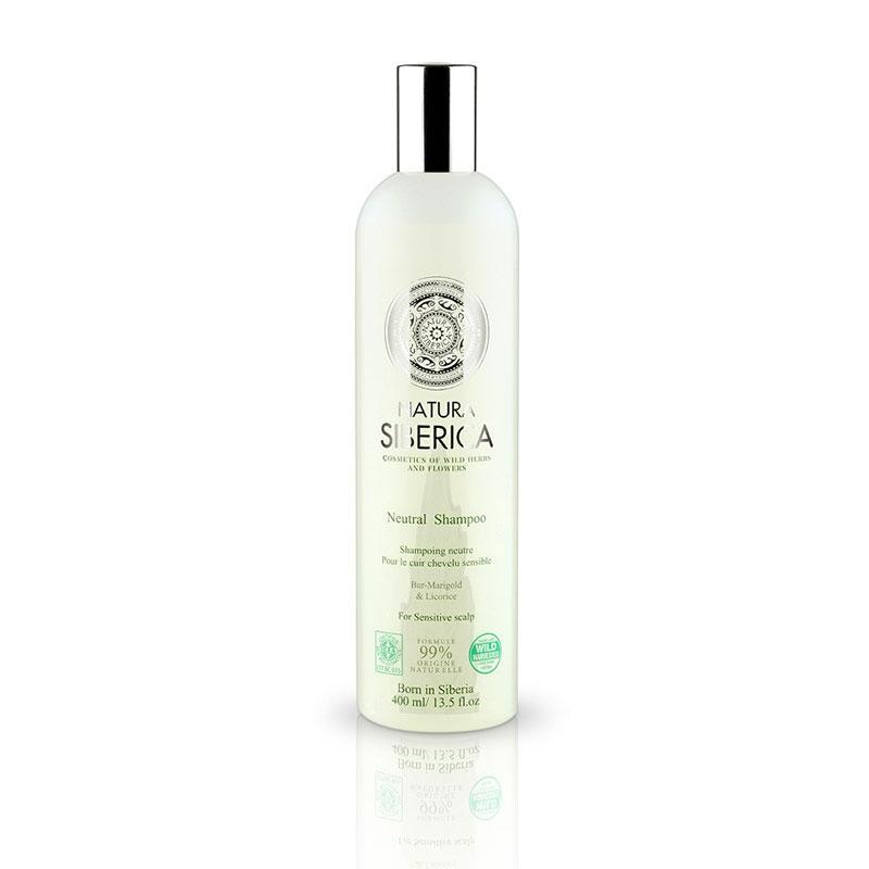 Natura Siberica Neutral Shampoo Ουδέτερο Σαμπουάν για Ευαίσθητα Δέρματα 400 ml