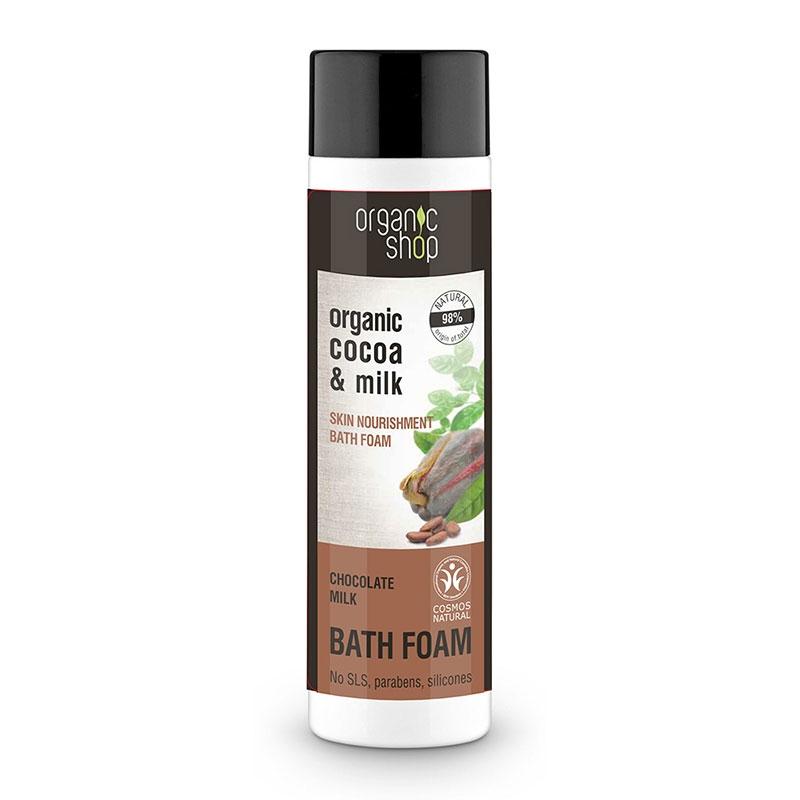Natura Siberica Organic Shop Chocolate Milk Αφρόλουτρο Κακάο & Γάλα 500ml