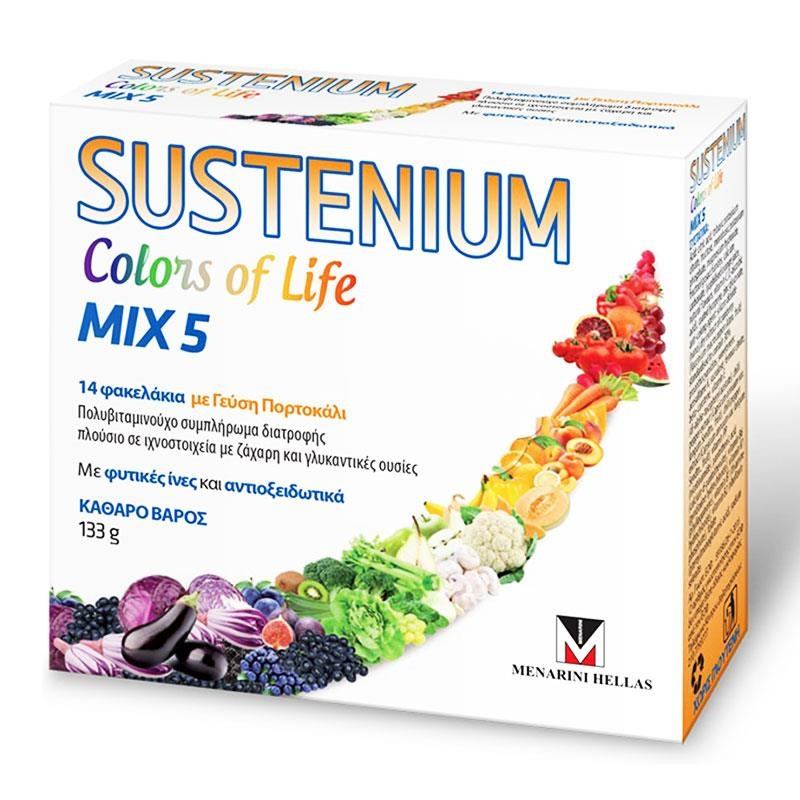 Menarini Sustenium Colors of Life Mix 5 14Φακελάκια