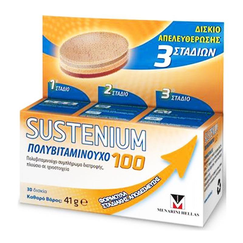 Menarini Sustenium MultiVitamin 100 30κάψουλες