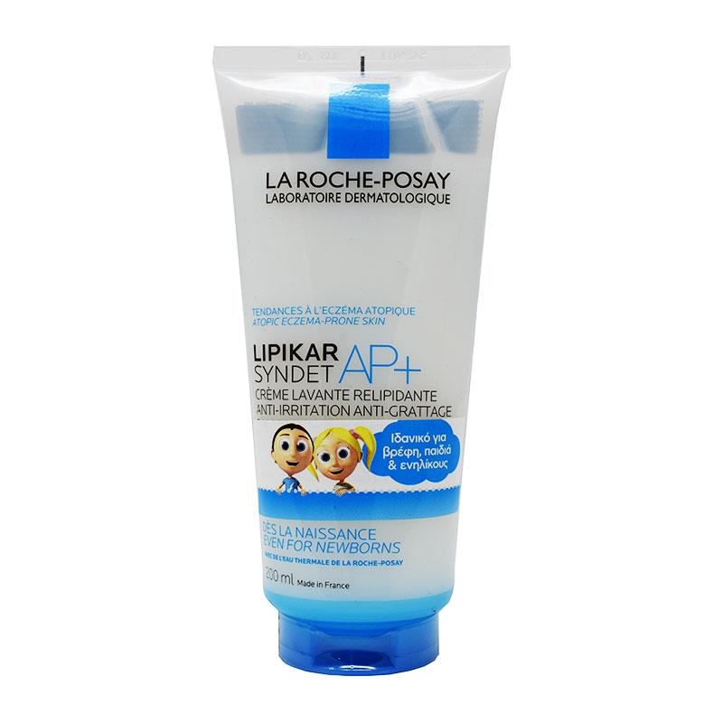 La Roche Posay Lipikar Syndet Ap + Κρέμα Καθαρισμού 200ml