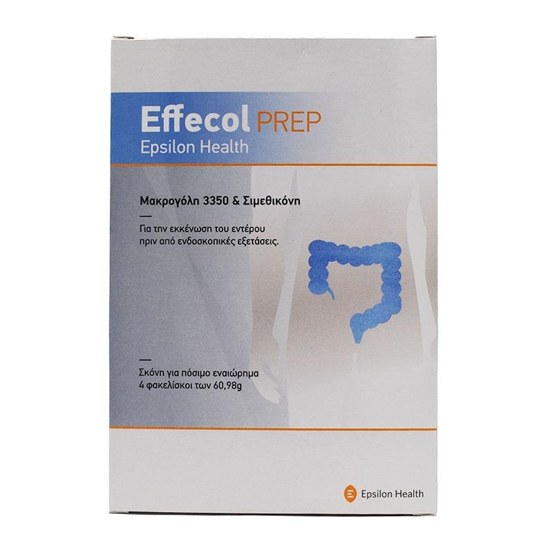 Epsilon Health Effecol Prep 4 φακελίσκοι x 60.98gr