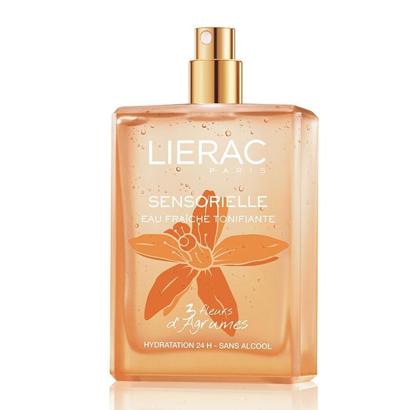 "Lierac Sensorielle 3 Fleurs d"" Agrumes Eau Fraiche Tonifiante Sans Alcool 100ml"