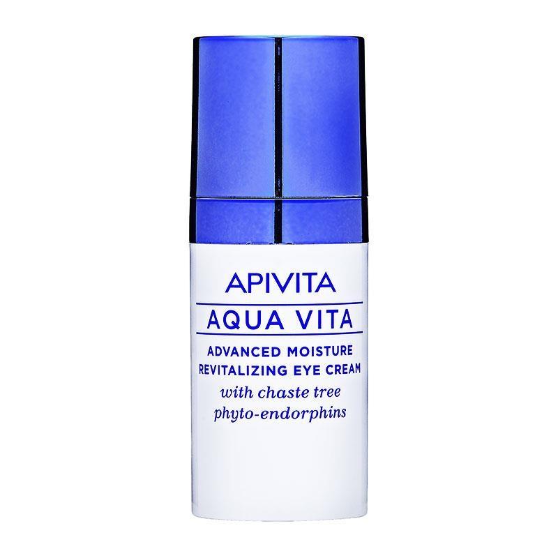 Apivita Aqua Vita Κρέμα Ματιών με Φυτοενδορφίνες Λυγαριάς 15ml