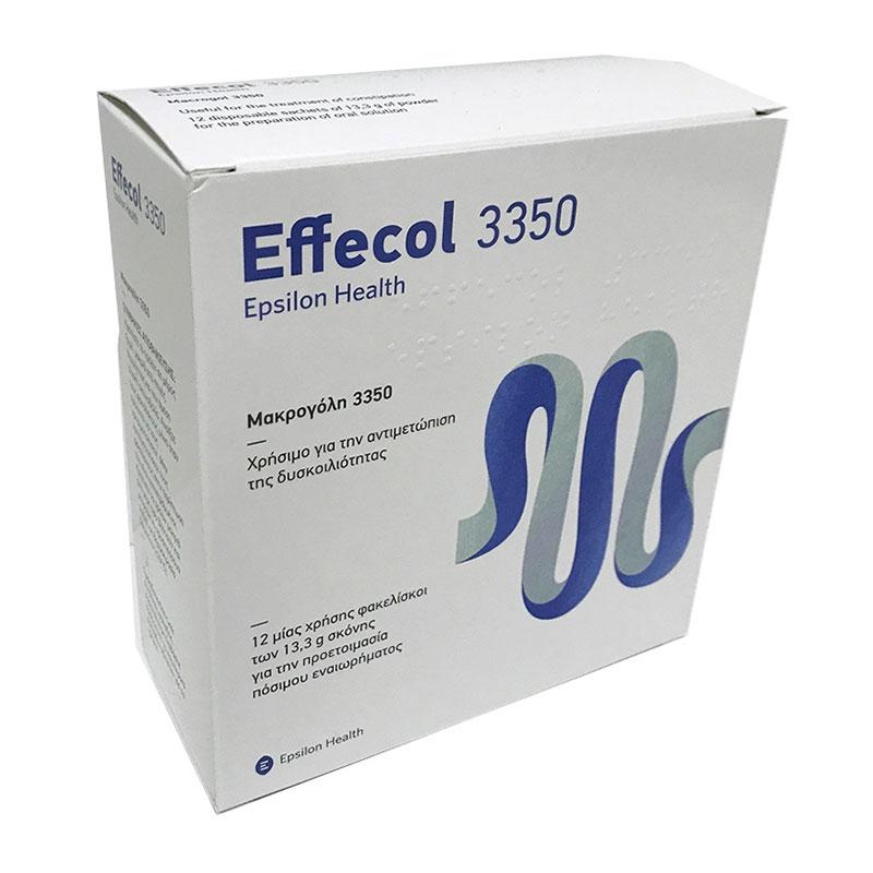 Effecol 3350 12 φακελίσκοι χ 13,3gr