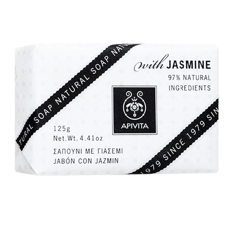 Apivita Natural Soap με Γιασεμί 125gr