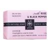 Apivita Natural Soap με Τριαντάφυλλο & Μαύρο Πιπέρι 125gr