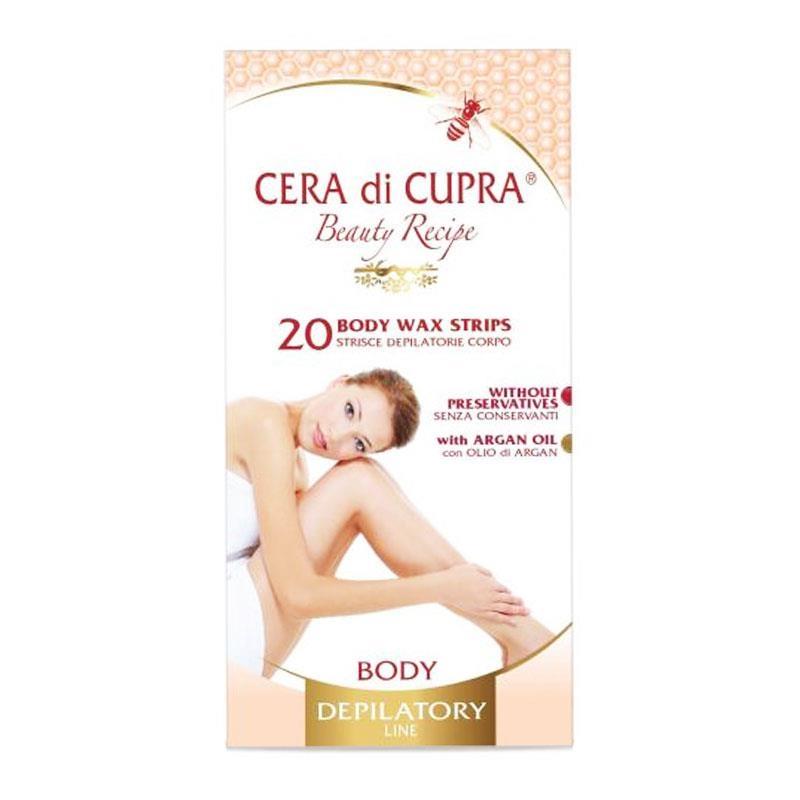 Cera di Cupra Wax Body Strips 20τεμ.