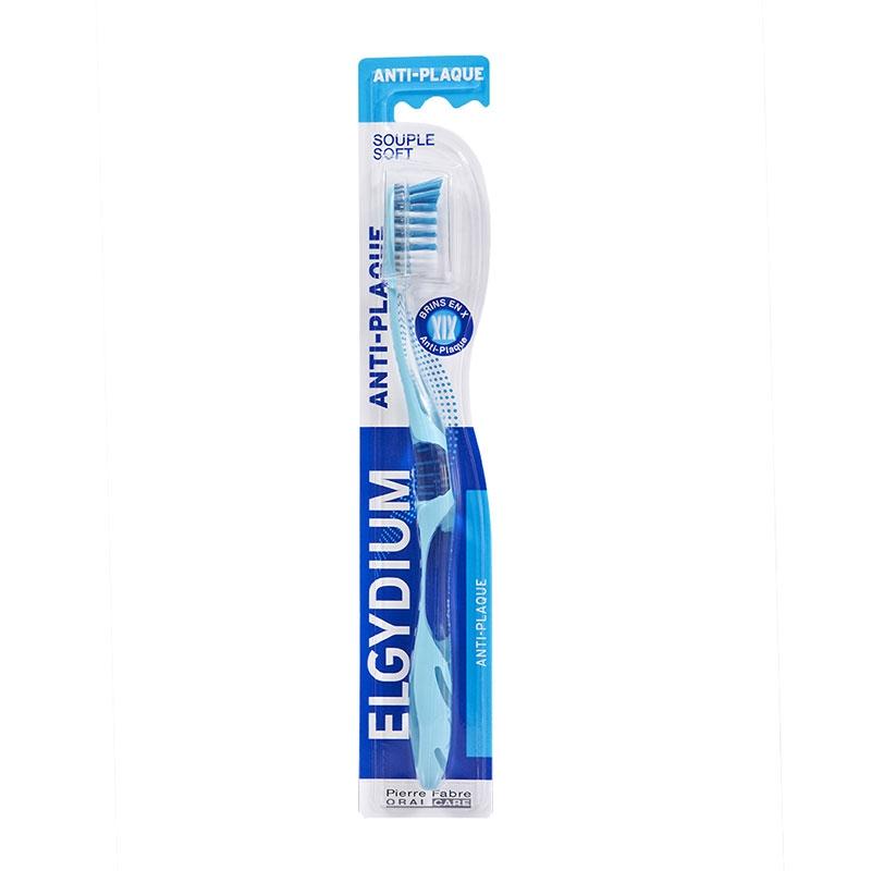 Elgydium Οδοντόβουρτσα Anti-Plaque Μαλακή 1τεμ.