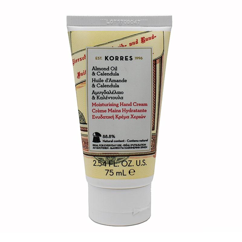 Korres Κρέμα Χεριών με Βιολογικό Αμυγδαλέλαιο & Καλέντουλα 75ml