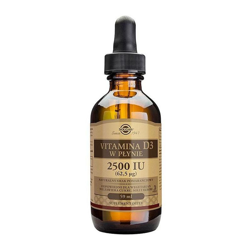 Solgar Vitamin D3 2500iu Liquid 59ml