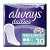 Always Dailies Fresh & Protect Normal 30τεμ.